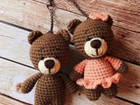 Crochet Pattern Amigurumi Teddy Bear