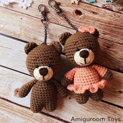 Crochet Pattern Amigurumi Teddy Bear