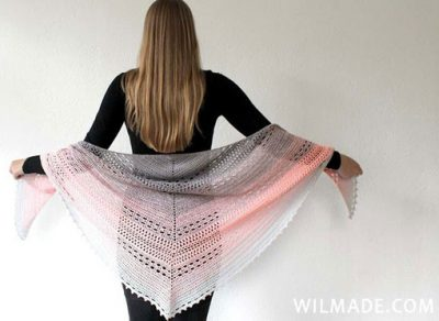 Crochet Pattern Bella Vita Shawl