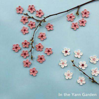 Crochet Pattern Cherry Blossom