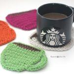 Crochet Pattern Coffee Coasters