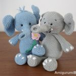 Crochet Pattern Ella the Elephant