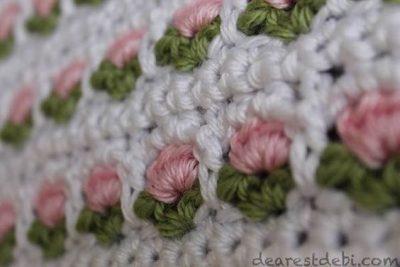 Crochet Pattern Flower Stitch
