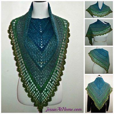 Crochet Pattern Juliette Shawl