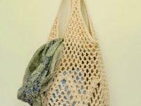 Crochet Pattern Pineapple Market Bag