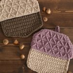 Crochet Pattern Acorn Pot Holder
