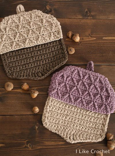 Crochet Pattern Pot Holder