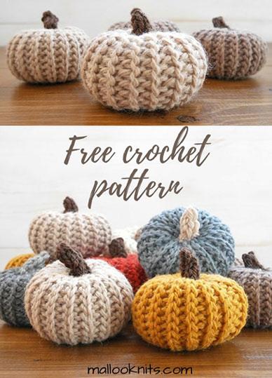 Crochet Pattern Pumpkins