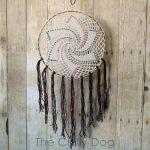 Crochet Pattern Star Dreamcatcher