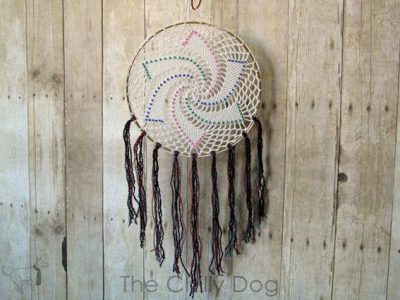 Crochet Pattern Star Dreamcatcher