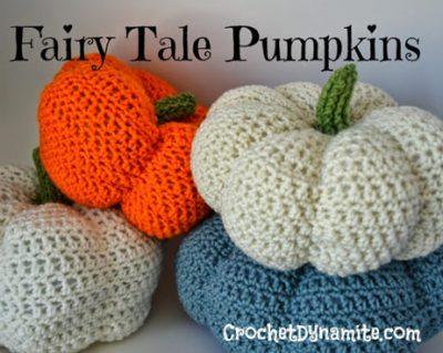 Pattern Fairy Tale Pumpkins