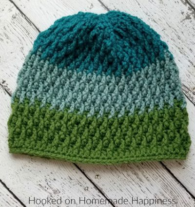 Crochet Pattern Pinetop Beanie