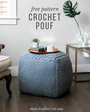 Pattern Pouf / Bean Bag