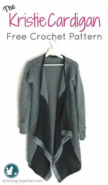 Crochet Pattern Kristie Cardigan