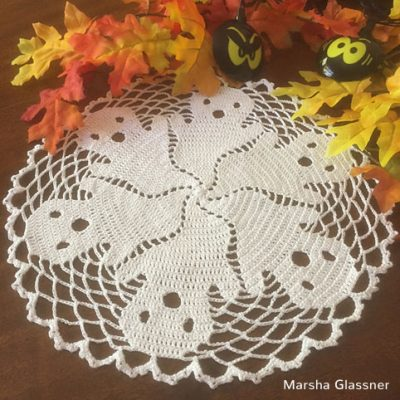 Crochet Pattern Ghost Doily