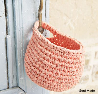 Crochet Pattern Hanging Basket
