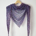 Crochet Pattern Nightfall Shawl