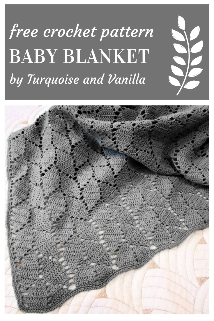 Free Crochet Patterns Crochet Pattern Baby Leaf Blanket Free Crochet Patterns