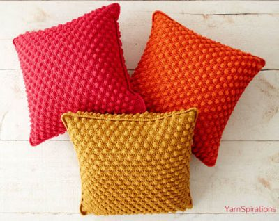 Free Crochet Pattern Bobble Licious Pillows