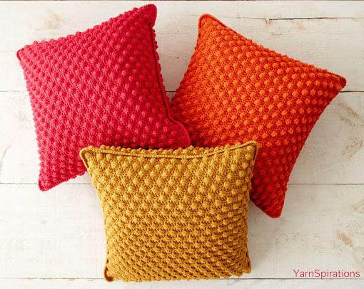 Free Crochet Pattern Bobble Licious Pillows