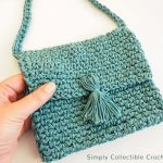 Free Crochet Pattern Cross Body Bag