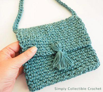 Free Crochet Pattern Cross Body Bag
