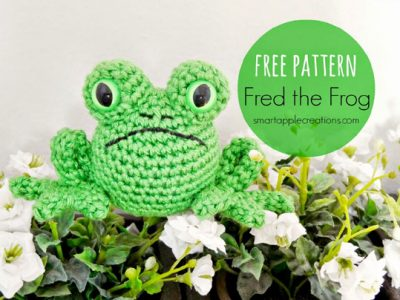 Free Crochet Pattern Fred the Frog
