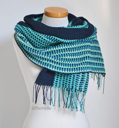 Free Crochet Pattern Linen Shawl