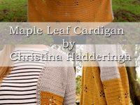 Free Crochet Pattern Maple Leaf Cardigan