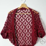 Free Crochet Pattern Meadow Lace Shrug