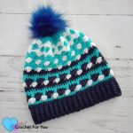 Free Crochet Pattern Ocean Shades Hat