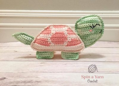 Free Crochet Pattern Tilly Tortoise