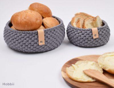 Free Crochet Pattern Bread Baskets