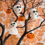 Crochet Pattern Halloween Tree of Spookiness