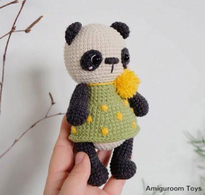 Crochet Pattern Panda