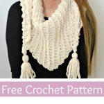Free Crochet Pattern Albella Scarf