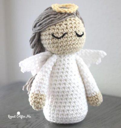 Free Crochet Pattern Angel