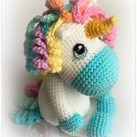 Free Crochet Pattern Baby Unicorn