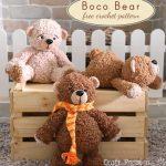 Free Crochet Pattern Boco Bear