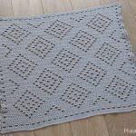 Free Crochet Pattern Boho Baby Blanket