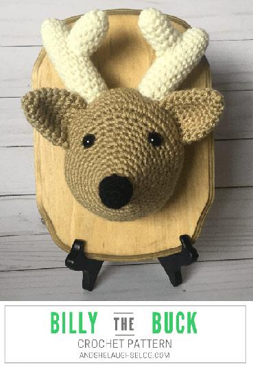 Free Crochet Pattern Billy the Buck