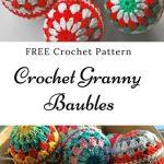 Free Crochet Pattern Christmas Baubles