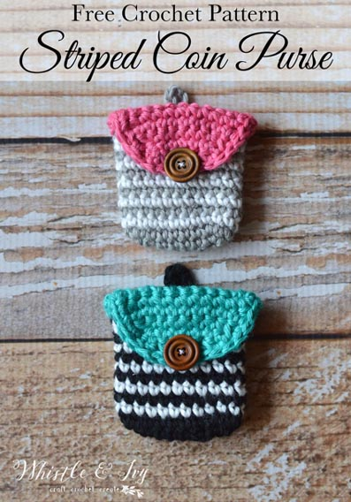 Free Crochet Pattern Coin Purse