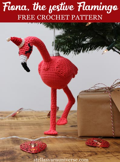 Free Crochet Pattern Fiona Flamingo