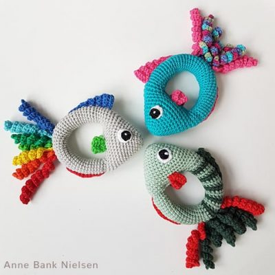 Free Crochet Pattern Fish Rattle