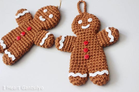 Free Crochet Patterns Free Crochet Pattern Gingerbread Man Free