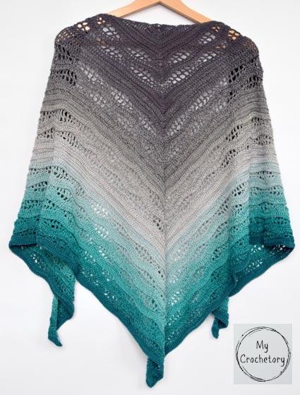 Free Crochet Pattern Kalinda Shawl