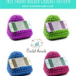 Free Crochet Pattern Mobile Phone Holder