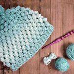 Free Crochet Pattern Ombre Pop Beanie