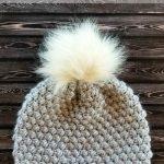 Free Crochet Pattern Pebble Beanie